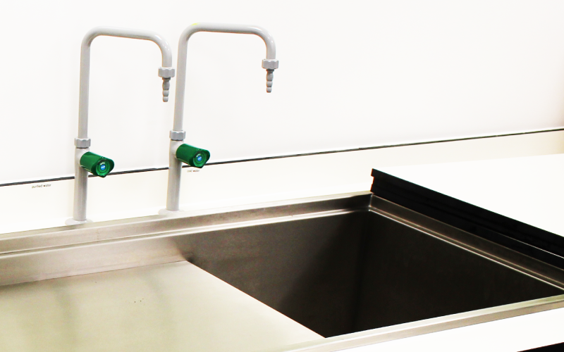 LabHub | Product Category | Lab Taps and Sinks