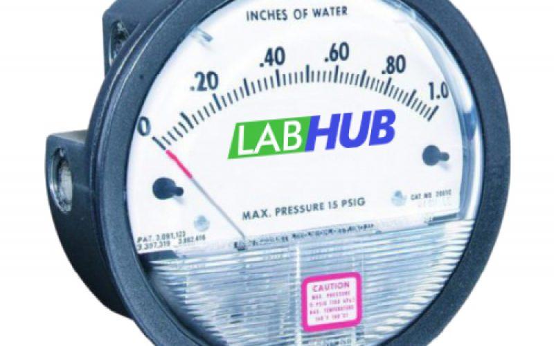 LabHub | Product | Pressure Differential Gauge