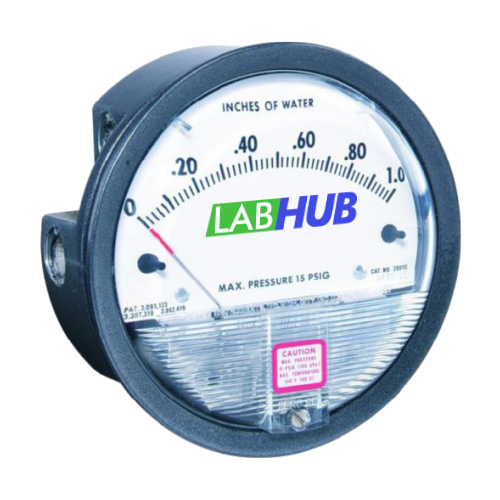 LabHub | Product | Pressure Differential Gauge